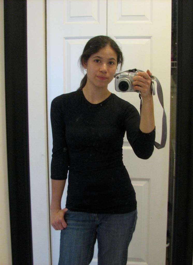 Black Knit Shirt