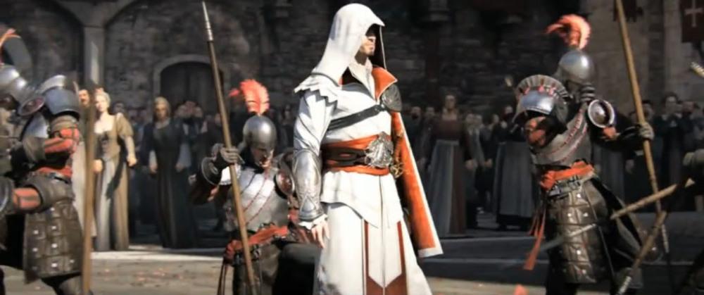 Interpreting the Assassin (Ezio Costume, Part 1) (1/4)