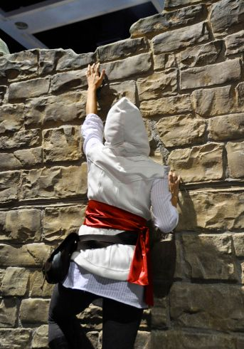 Assassins Creed Cosplay Climbing Wall