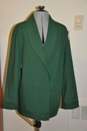 Size 12 women's blazer found at Goodwill