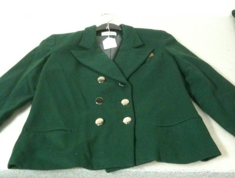 Replica uniform jacket, United Airlines 1930s (Museum of Flight collection)