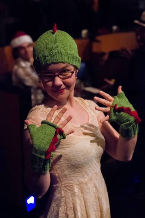 Photo by Sayed Alamy, taken at the 2nd Annual Dammit Liz Holiday Show