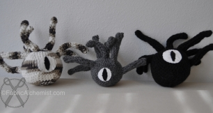 Beholder Crocheted Cat Toys (purchased pattern)