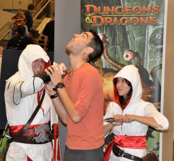 Ezio and Assassin in action at PAX Prime