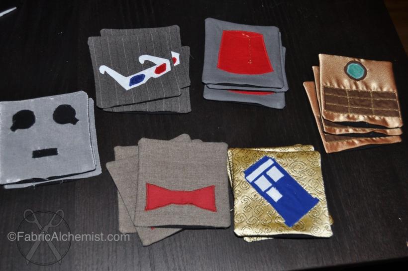 Doctor Who Coasters (original design)