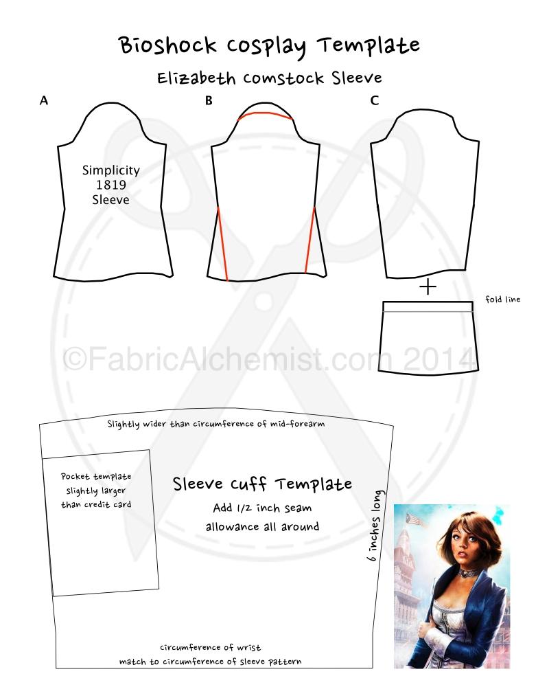 Elizabeth Comstock Costume Notes (5/6)