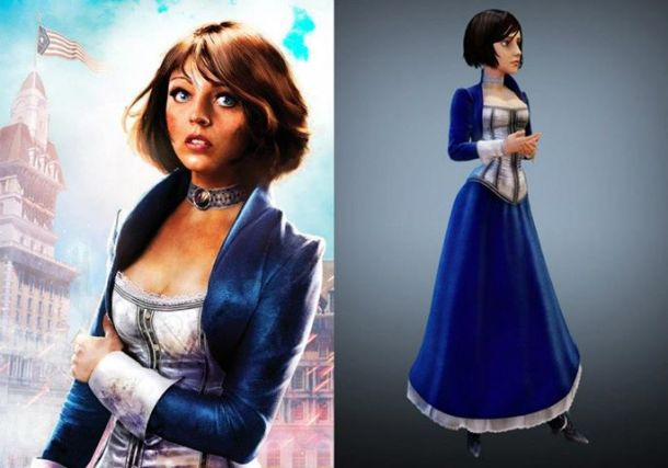These were my most-used reference images of Elizabeth.