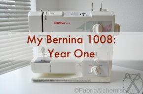 Bernina 1008 Status Update: Taffeta, Chiffon, and Cotton