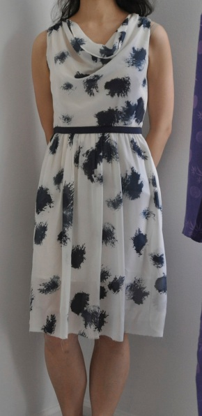 Selfish Sewing: Inkblot Skirt