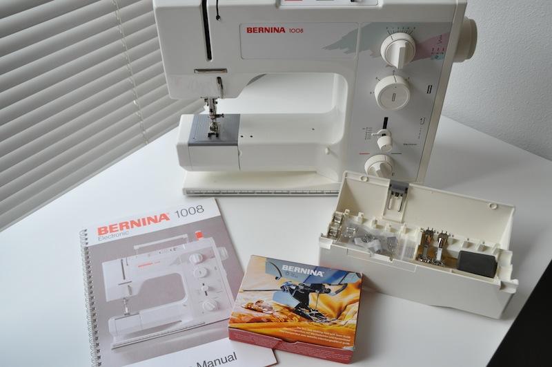 My semi-new Bernina 1008 (4/4)