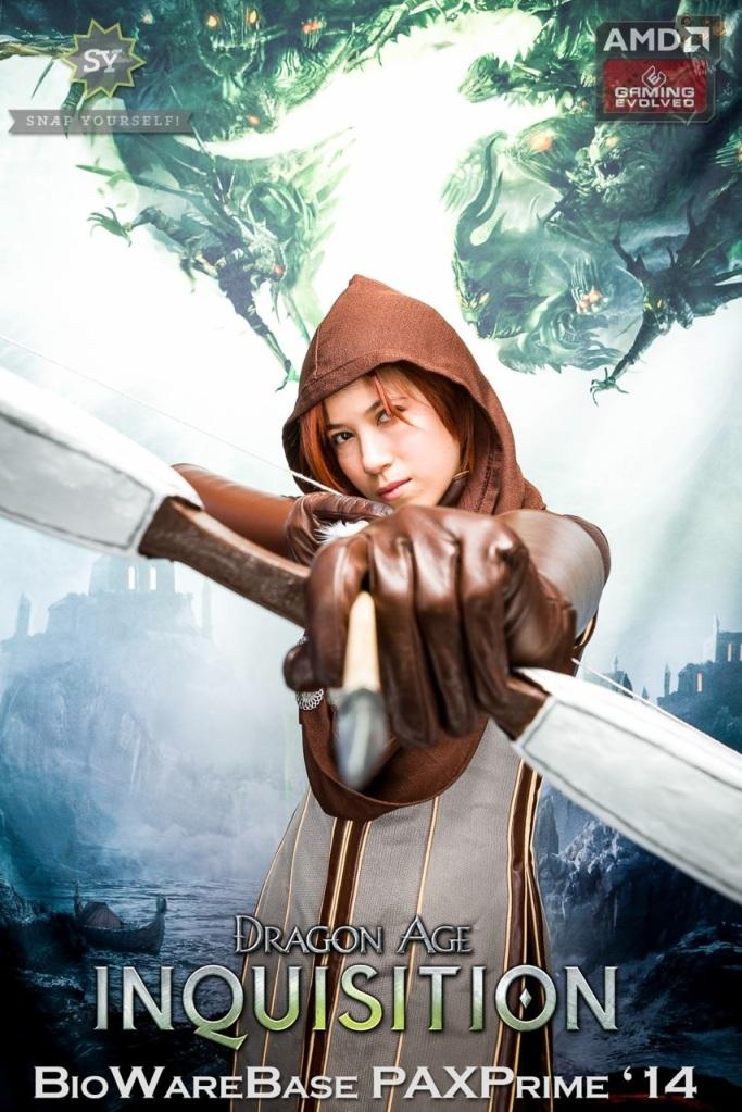 Leliana Dragon Age Inquisition at PAX Prime BioWare Base