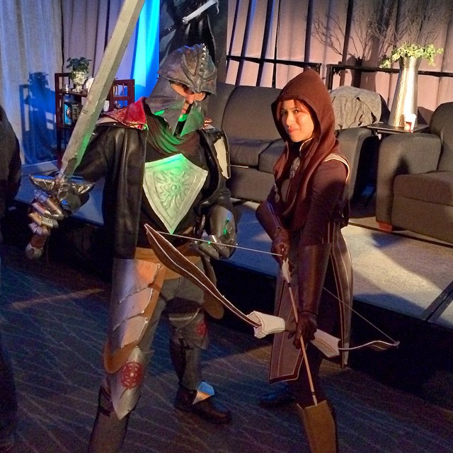 Dragon Age Cosplay - Inquisitor and Leliana