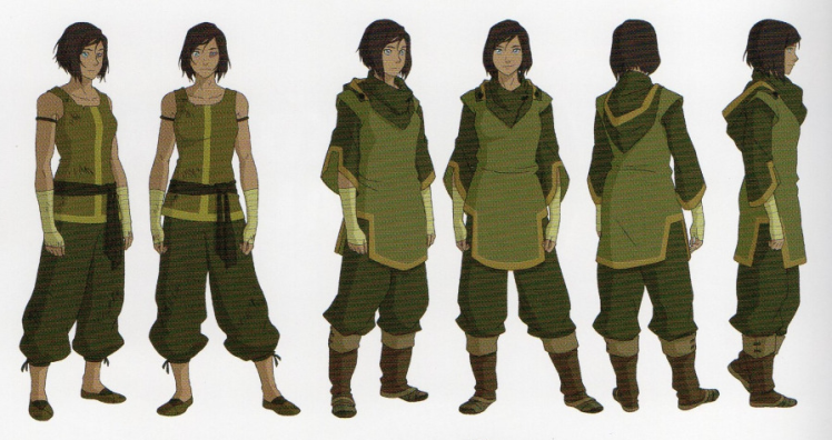 Korra Earth Kingdom Outfit Book 4