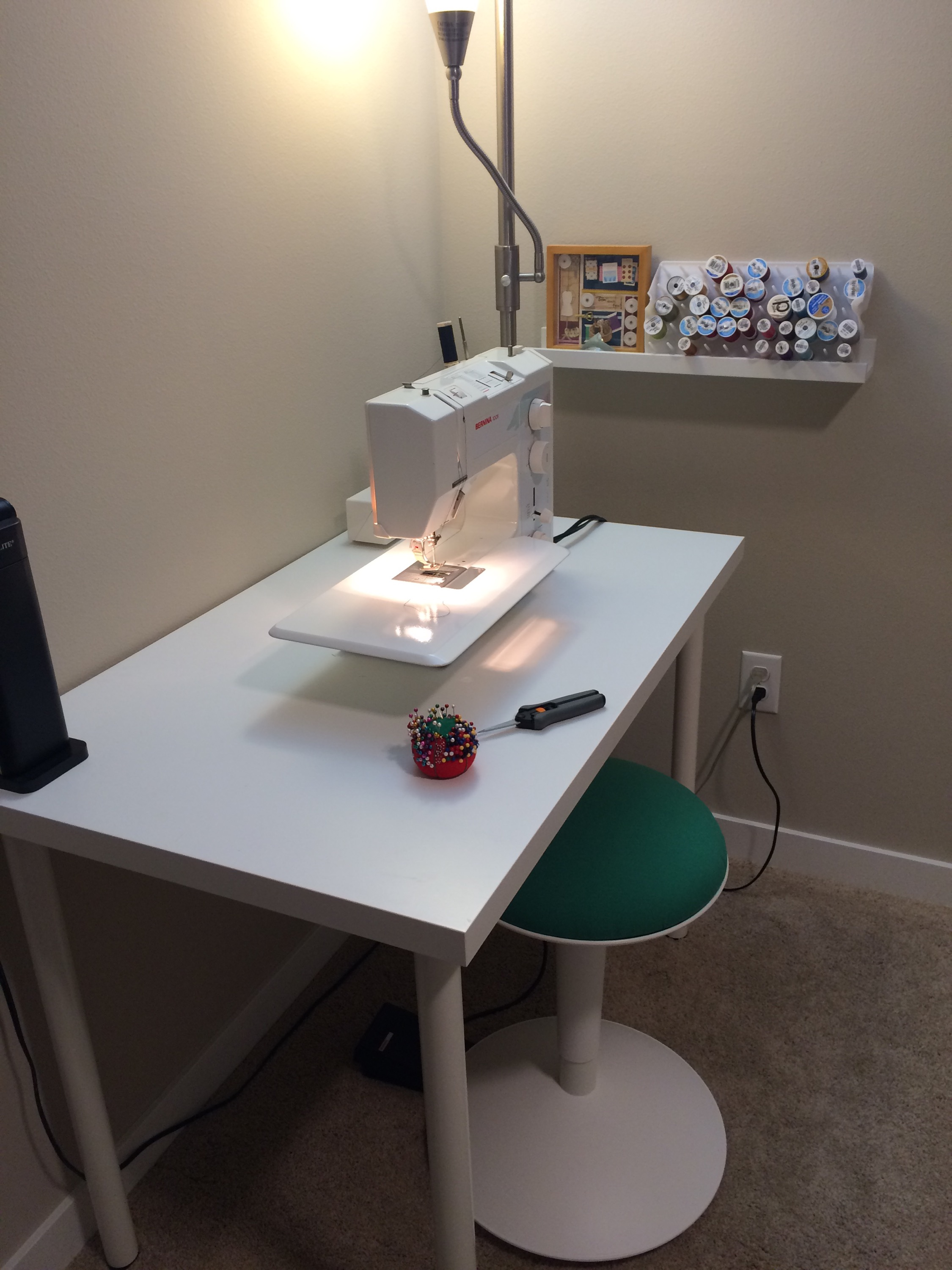 Sewing Room 2 0 – Sewing Station – The Fabric Alchemist
