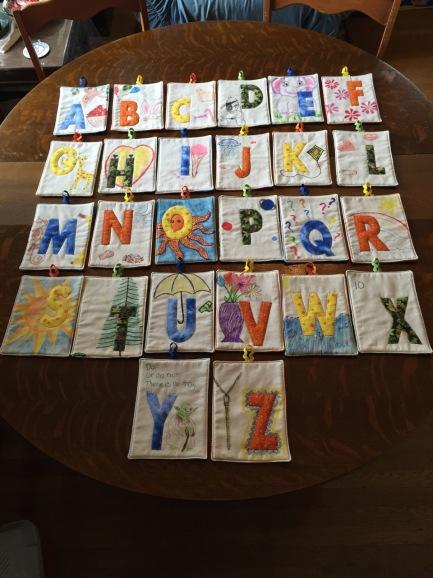 Fabric Alphabet (original)