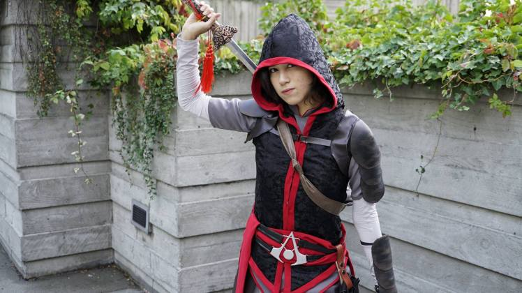 Shao Jun cosplay Assassins Creed China