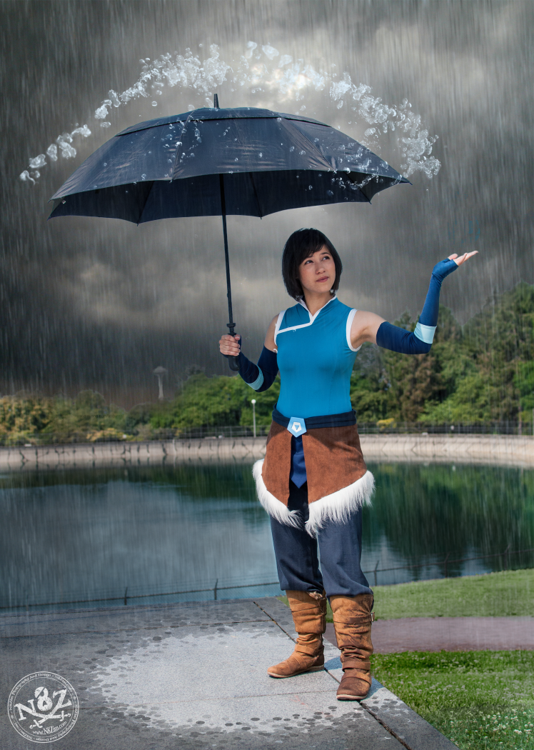 Korra deals with Seattle rain