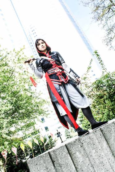Shao Jun from Assassin's Creed, cosplay by Fabric Alchemist, photo by Kirin Photography