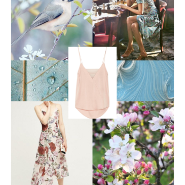 Spring 2017 Mood board - Fresh Blooms