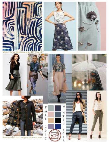 Fashion Mood Board Fall 2017 Winter 2018 Fabric Alchemist