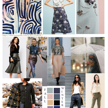 Fashion Mood Board Fall 2017 Winter 2018 Fabric Alchemist